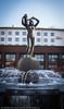 Frihetsstatuen på Narvik torg
