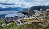 Øvre fjellheisstasjon og restaurant, 16. juli 2020
