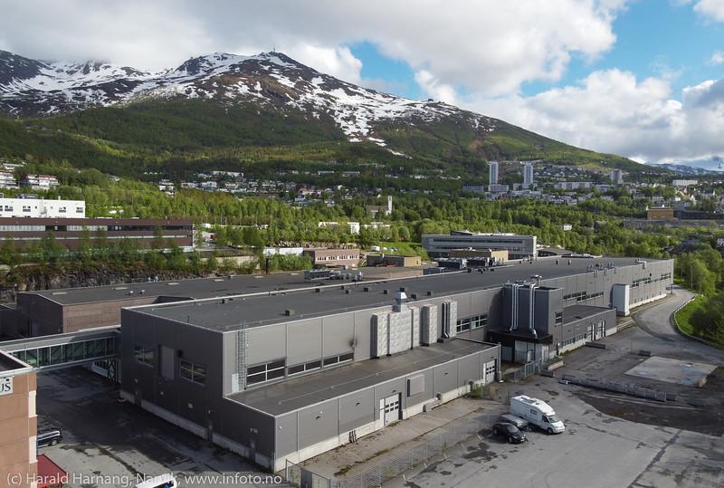Tidligere REC, solcellefabrikk