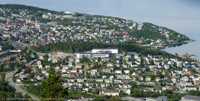 Narvik ungdomsskole og Gulbransons park