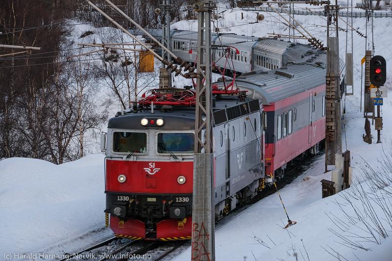 Passasjertog, Ofotbanen, 12. februar 2020