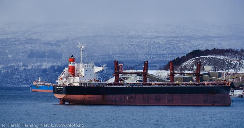 Narvik havn 13. mars 2020