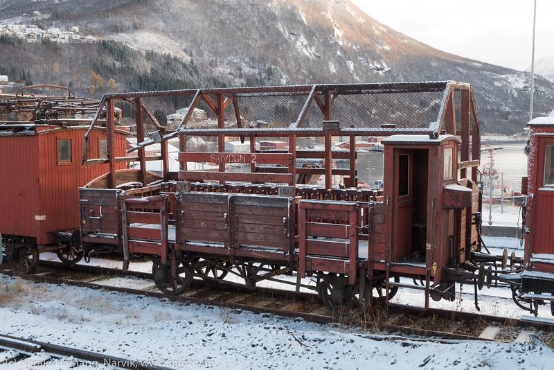 Skivogn, Ofotbanen