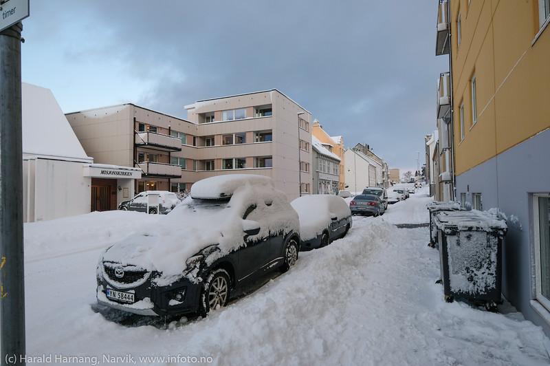 Snøvær