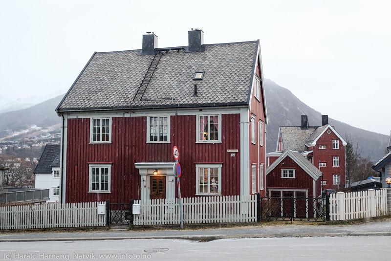 Hus i mange fasonger