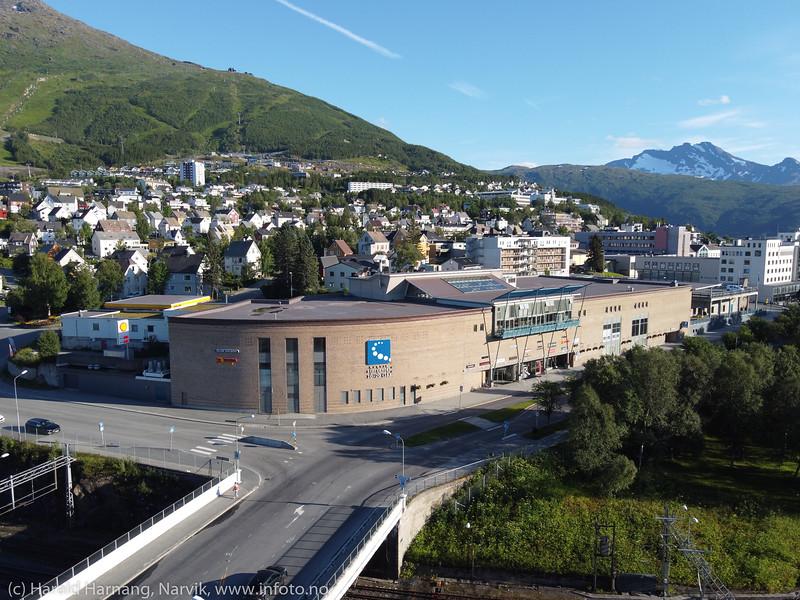 Narvik storsenter, 7. aug 2020
