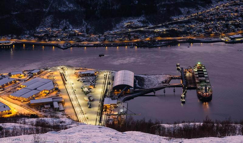 Malmskip, Fagerneskaia, 12. des. 2020