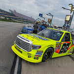 The #88 Toyota of Matt Crafton led the field to the green flag in Thursday\'s NASCAR Camping world Truck Series UNOH 225.