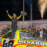 Matt Crafton and his #88 team celebrated a win in the UNOH 225.