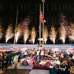 A jubilant Brad Keselowski celebrated his first Xfinity Series win of 2015, collecting the trophy in the Kentucky 300.