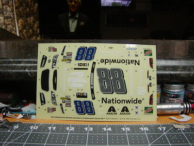 Nascar Stock Car Decals
