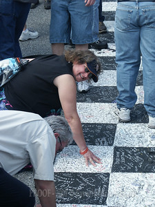 Signing the Start/Finish Line