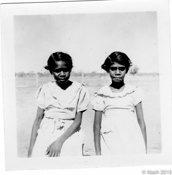 1954  Josephine and Judith Forrest