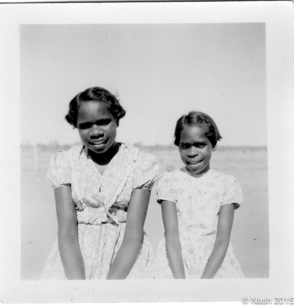 1954 Rona Hale and Janet Williams