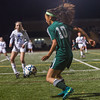 Nashoba's Lily Hammill settles the ball against W. Springfield during the Div I State Semi-Final which the Chieftains won 1-0. SENTINEL & ENTERPRISE / JIM MARABELLO
