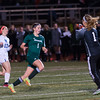 W. Springfield Keeper Jaimee O'Brien makes a stop to deny Nashoba's Abby McNulty SENTINEL & ENTERPRISE / JIM MARABELLO