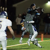 Monty Tech senior Nate Maxner (back) denies Nashoba Tech senior Ryan Barnoski with seconds left in the game and Nashoba just a few yards of the end zone during the Thanksgiving Eve game on Wednesday November 23, 2016 between Nashoba Tech and Monty Tech at Nashoba.  (Sentinel & Enterptrise photo/Jeff Porter)