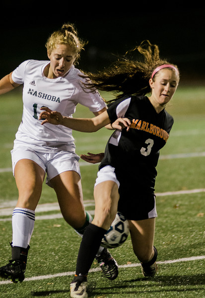 Nashoba's Danielle Scafidi action during the Central Mass. Division 1 semifinal game against Marlboro on Thursday evening. SENTINEL & ENTERPRISE / Ashley Green