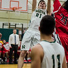 Nashoba's Andrew Fish in action during the Central Mass. Division 2 quarterfinal game against Milford on Thursday, March 2, 2017. SENTINEL & ENTERPRISE / Ashley Green