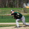 Nashoba's Cam Roberts delivers a pitch during the game against North Middlesex on Tuesday, April 18, 2017. SENTINEL & ENTERPRISE / Ashley Green