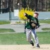 Nashoba's Luke Ashline makes a play across the diamond during the game against North Middlesex on Tuesday, April 18, 2017. SENTINEL & ENTERPRISE / Ashley Green