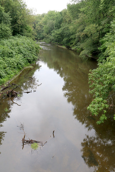This section of the Nashua River lies in Lancaster near the Bennett's Bridge on Route 117. SENTINEL & ENTERPRISE/JOHN LOVE