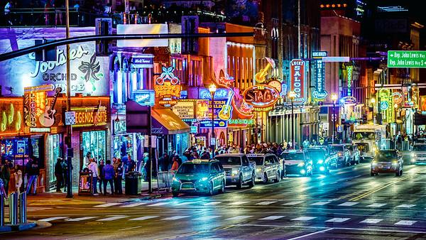 Neon Honky Tonk heaven - Nashville