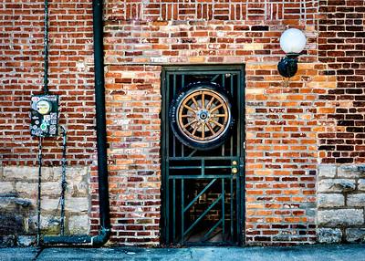 Marathon Motors doorway - Nashville Tennessee