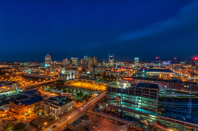 Skyline of Downtown Nashville