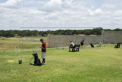 Nasis boys play Golf at The Hawk driving range and greenside 06-21-12