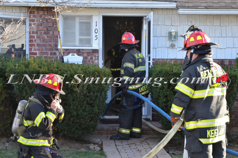 Bellmore F D  House Fire 105 Bellmill Road 11-23-13-9