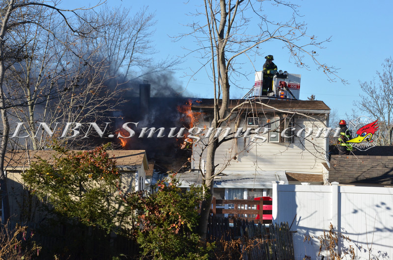 Bellmore F D  House Fire 105 Bellmill Road 11-23-13-2
