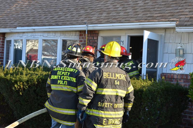 Bellmore F D  House Fire 105 Bellmill Road 11-23-13-10