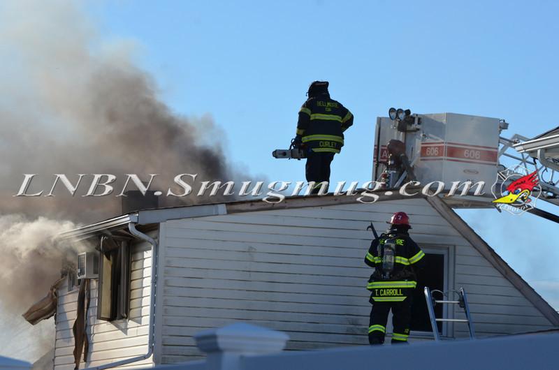 Bellmore F D  House Fire 105 Bellmill Road 11-23-13-7
