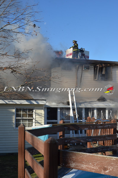 Bellmore F D  House Fire 105 Bellmill Road 11-23-13-16