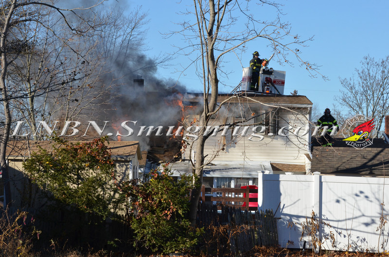 Bellmore F D  House Fire 105 Bellmill Road 11-23-13-1