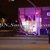 Bellmore F D  Truck vs Post Office Merrick Rd  & Center Ave  9-27-11-2