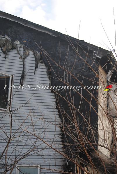 Bethpage F D  House Fire 2 Lexington Ave 1-4-12-9
