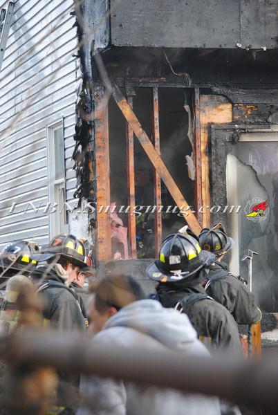 Bethpage F D  House Fire 2 Lexington Ave 1-4-12-15