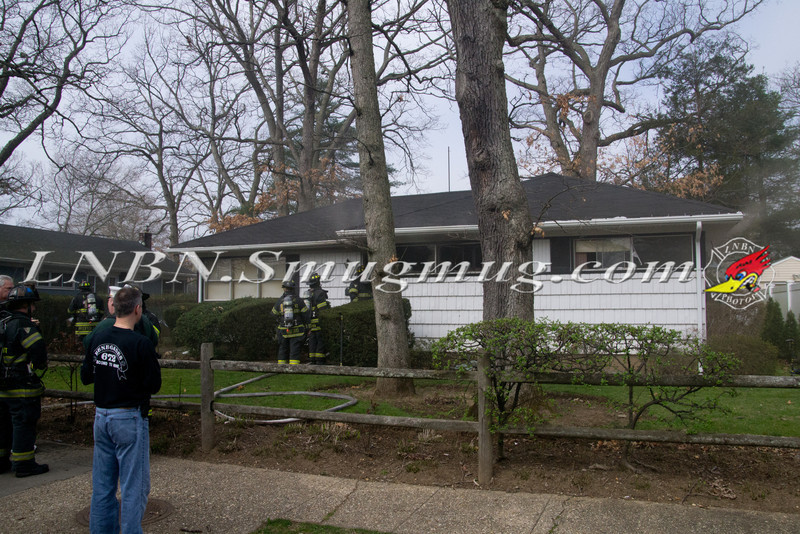 East Meadow F D  House Fire 1477 Prospect Ave 3-22-12-1