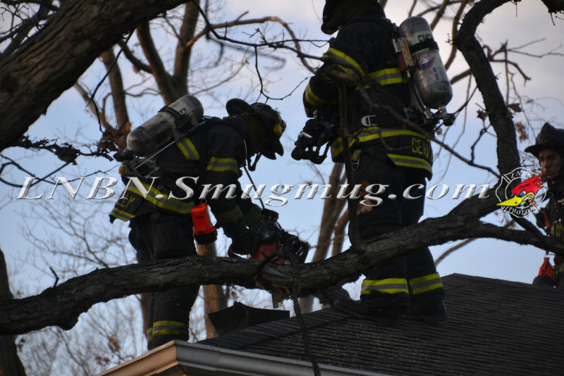 East Meadow F D  House Fire 1725 Newman Ct 1-18-12-1