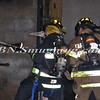 Farmingdale F D  Working Garage Fire Columbia St  1-10-12-11