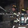 Farmingdale F D  Working Garage Fire Columbia St  1-10-12-12