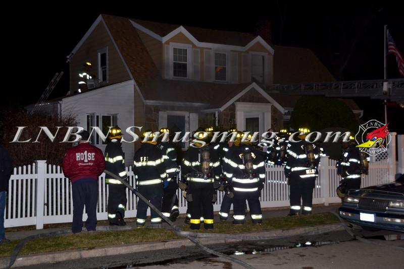 Freeport F D  Basement Fire 111 Rutland Rd  1-29-12-1
