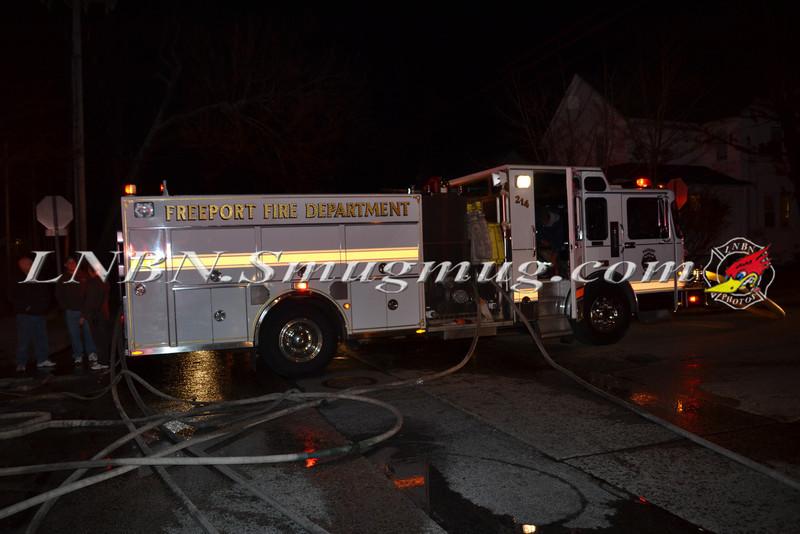 Freeport F D  House Fire 164 Jay St 2-17-12-1