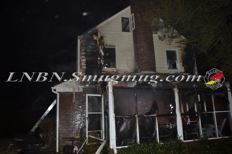 Hempstead F D  Woring Fire 25 Alicia Ct  1-24-12-1