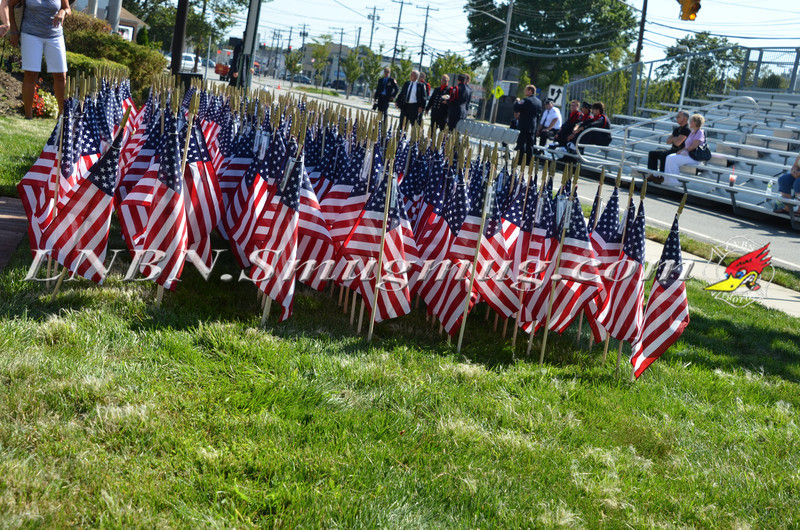 September 11th Remembrance in Honor of Terrence Farrell and George Howard at Hicksville F D  St  3 9-8-11-1