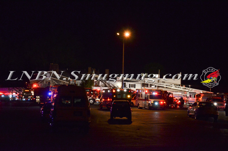 Jericho F D  Building Fire Milleridge Inn 585 North Broadway 5-14-14-1