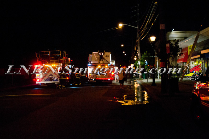 Levittown F D  Building Fire 60 Division Avenue 7-1-12-1