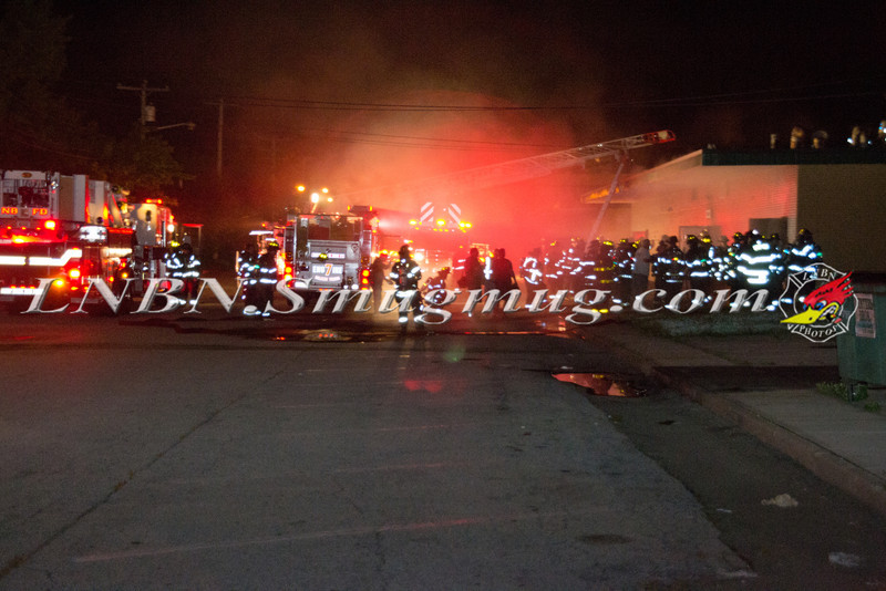 Levittown F D  Basement Fire 168 Center La  8-24-11